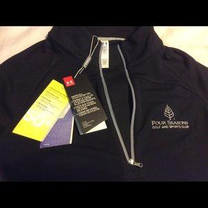 Under Armour athletic/golf shirt